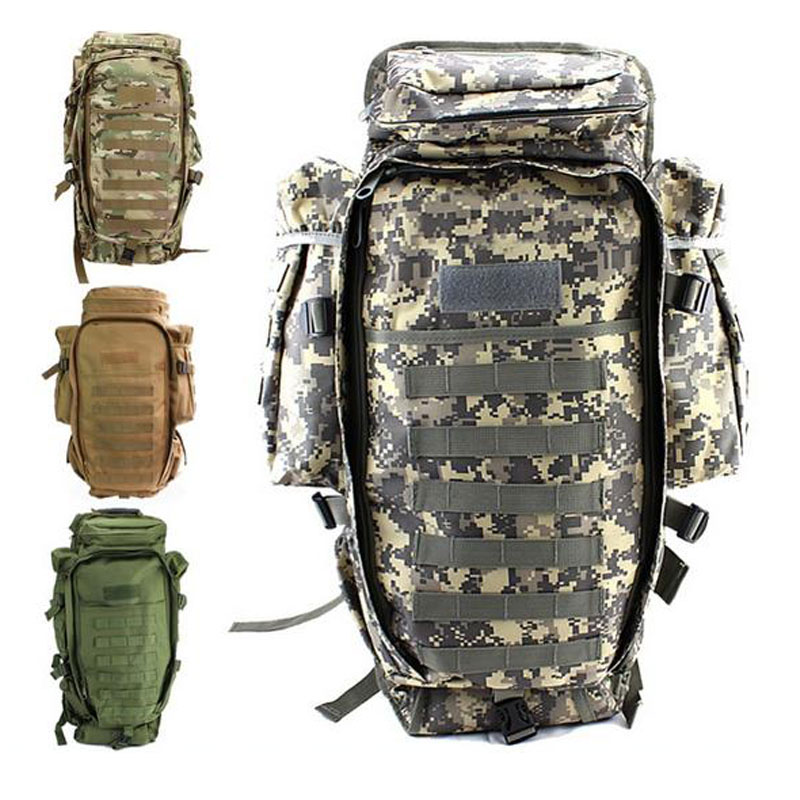 Men's Military Tactical Pack Outdoor Hunting Backpack Rifle Carry Tactical Bag Gun Protection Case Backpacks yuzhe leather car seat cover for volkswagen 4 5 6 7 vw passat b5 b6 b7 polo golf mk4 tiguan jetta touareg accessories styling