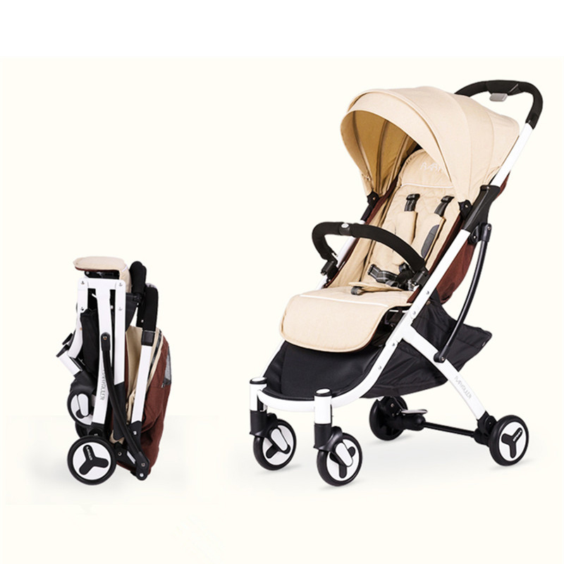 Portable Baby Stroller for dolls 3 in 1 yoya plus ultra-lightweight high landscape baby  ...