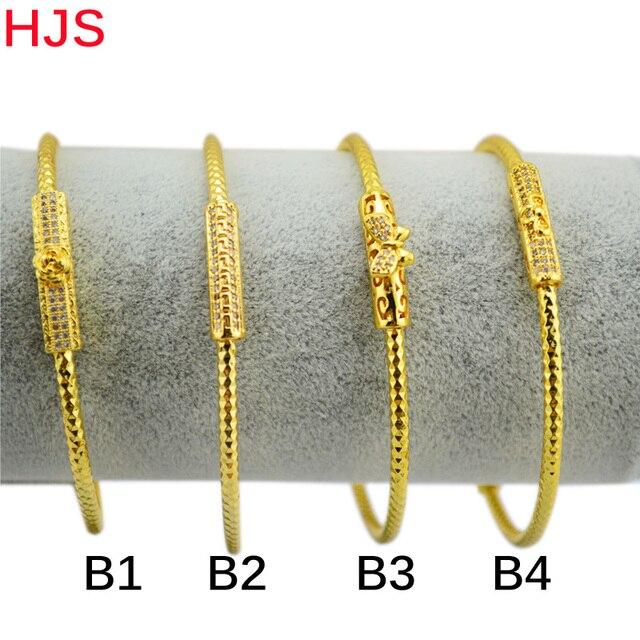price for one new arrival fashion la s Dubai gold jewelry 18KGP