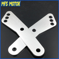 Motorcycle Lowering Link For Honda CBR 600 F2 F3 F4i 1100XX CBR600 Motorcycle Bike Silver