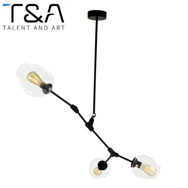 US $233.36 |Moderno Vetro Palla Ramificazione Bubble Lampadari a  Sospensione Per La Cucina Soggiorno Ristorante Lampadario Illuminazione Led  E27 ...