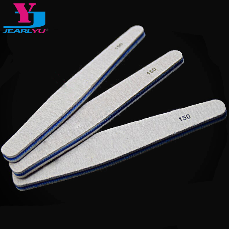 New 10pcs Professional Nail Files 150/150 Fashion Drop Style Sanding Nail Buffer File DIY Manicure Nails Accessoires Care Tools
