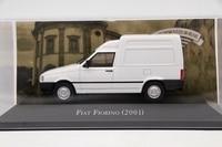IXO Altaya 1 43 Scale Fiat Fiorino 2001 Auto Diecast Models Toys Car Collection White