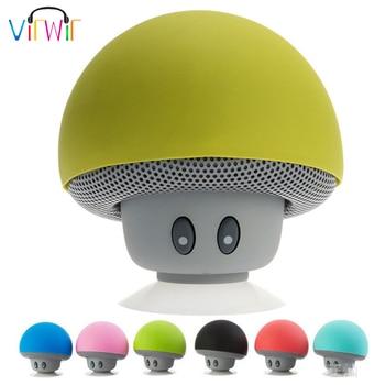 Estéreo parlante hongo con Bluetooth Mini Altavoz Bluetooth inalámbrico MP3 reproductor de...