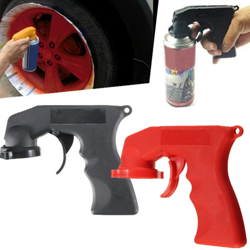 New Arrival Painting Aerosol Spray Can Handle with Full Grip Trigger for Painting Power Tool Accessories HR tresemme tres two spray extra hold for extra firm control non aerosol hair spray 2 fl oz