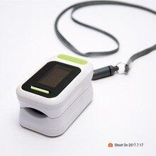 Портативный Пальчиковый Пульсоксиметр OLED режимы отображения кислорода в крови SpO2 монитор насыщения тонометр с ремешком коробка Прямая поставка