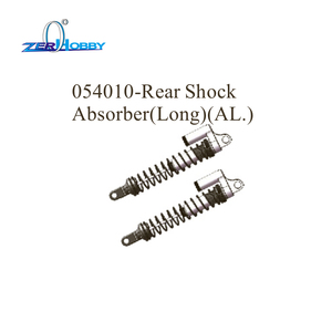 Image 4 - hsp racing car aluminum upgradable spare parts shock absorber for hsp 1/5 brushless buggy 94059 (part no. 054009, 054010)