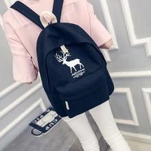 Стильная футболка с изображением персонажей видеоигр холст рюкзак свежий олень шаблон школьный рюкзак для девочек-подростков легкий зеленый рюкзак путешествия для женщин