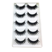 5 Paar Dikke Fake Wimpers Hot Koop Valse Wimpers Volume Wimpers Kunstmatige Extensions Valse Wimpers Make Lashes 1F25(China)