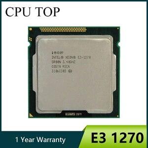 Image 1 - إنتل زيون E3 1270 3.4GHz LGA1155 8MB رباعية النواة معالج وحدة المعالجة المركزية SR00N