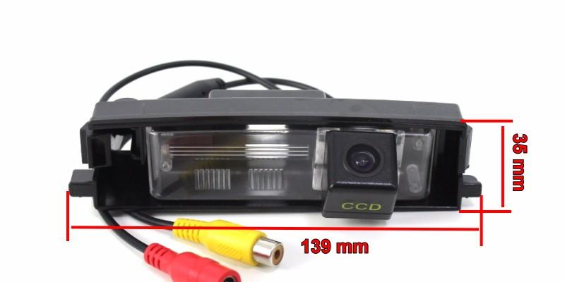 Car Intelligent Parking Tracks Camera  HD Back up Reverse Camera  Rear View Camera For TOYOTA Vanguard For TOYOTA RAV4 RAV-4 (1)