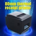 Pos принтер Высокое качество 80 мм тепловая чековый принтер ZJ-8250 автоматической резки машина скорость печати USB + lan интерфейс 200 мм/сек.