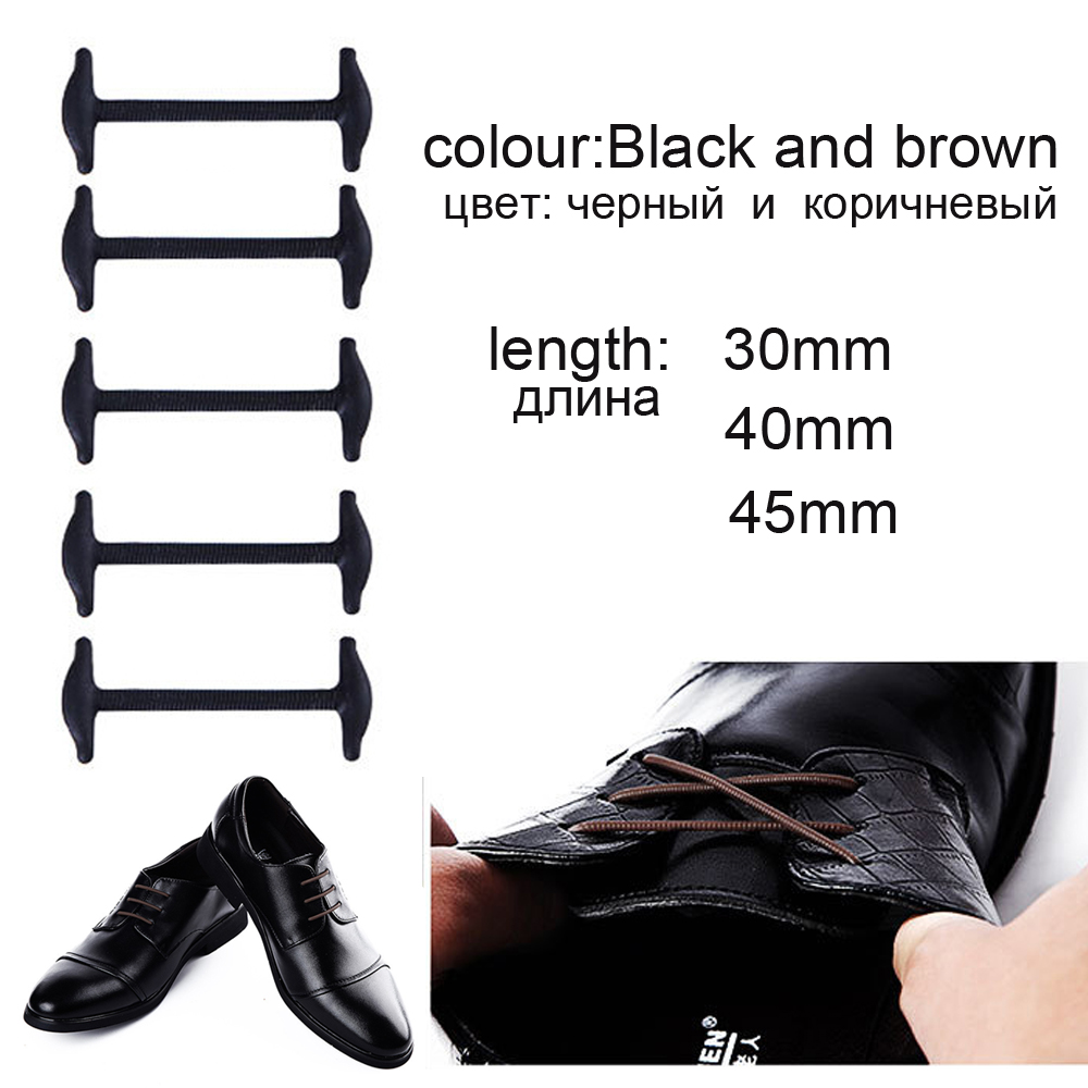 10pcsSet-No-To-Tie-Shoelaces-New-Novelty-Elastic-Silicone-Leather-Shoe-Laces-For-Men-Women-All-Fit-Strap-Business-Shoes-2