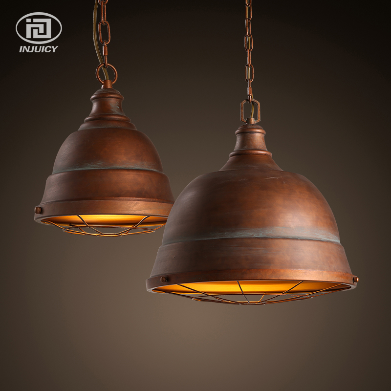 Loft Industrial American Retro Ceiling Lamp E27 Edison Pendant Light Aisle Balcony Coffee Shop Restaurant Decorative Droplight loft vintage edison glass light ceiling lamp cafe dining bar club aisle t300