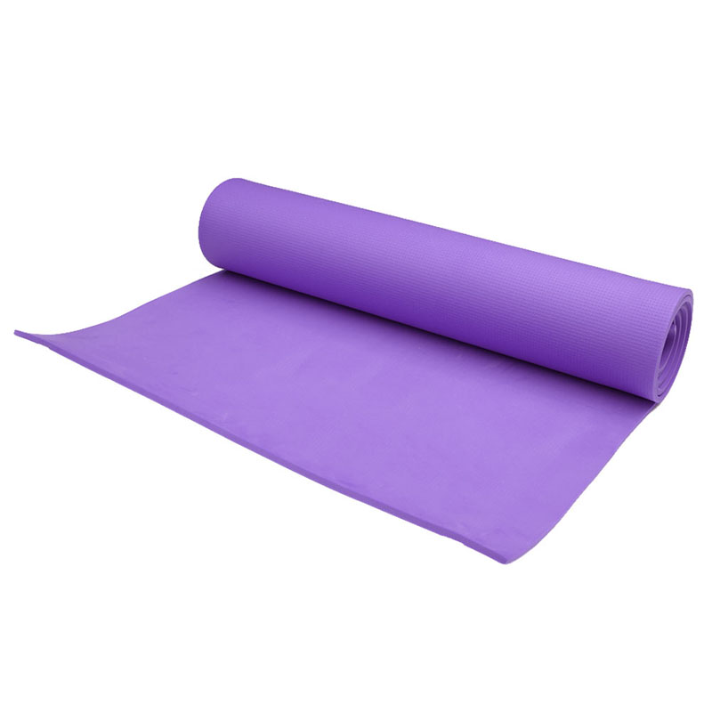 6mm Thick Durable Exercise Fitness Non-Slip Yoga Mat Lose Weight Meditation Pad