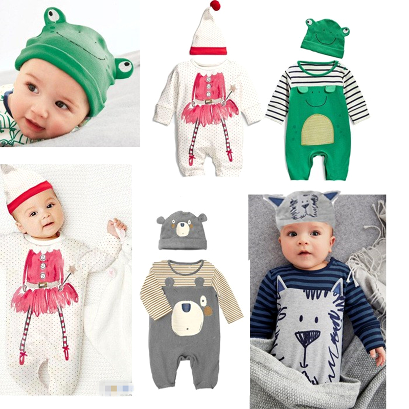 Newborn Baby Rompers Cute Animal Overalls Brand Boy Clothing Unisex Baby Costume Infant Long Sleeve Jumpsuits Baby Girls Clothes newborn baby rompers autumn winter package feet baby clothes polar fleece infant overalls baby boy girl jumpsuits clothing set