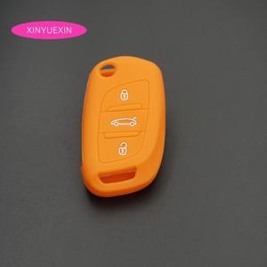 Image 3 - Xinyuexin غطاء مفتاح سيارة سيليكون فوب الحال بالنسبة لسيتروين C2 C3 C4 كوبيه VTR بيرلينجو C6 C8 الوجه البعيد مفتاح السيارة سيارة التصميم