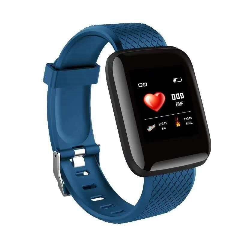 Smart Sports Wristbands Bracelet Blood Pressure Measurement Waterproof Fitness Tracker Watch Heart Rate Monitor Pedometer