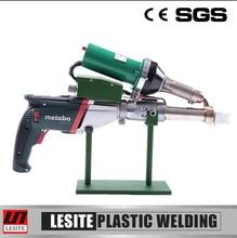 Lesite HDPE hand extrusion gun machine plastic welding extruder