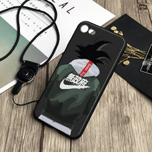 Dragon Ball Z Soft Silicone Cover Shell Phone Case For iPhone