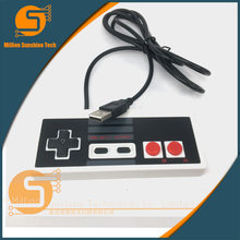 Classic wired usb controller gamepad joystick For NES game console Video Gaming Joypad for PC Mac Computer Windows(China)