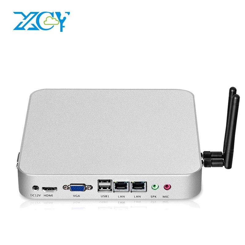 Windows 10 Mini PC Celeron 1037U Dual Core 4GB RAM 128GB SSD Dual NIC 2 LAN