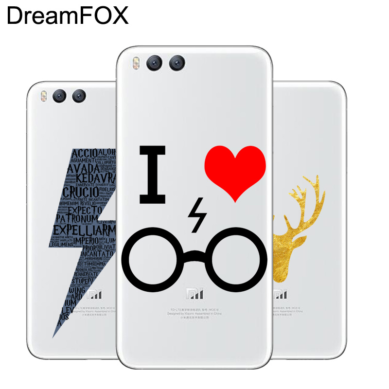 DREAMFOX L284 Fashion Harry Porter Soft TPU Silicone Case Cover For Xiaomi Mi Note 2 3 4 ...