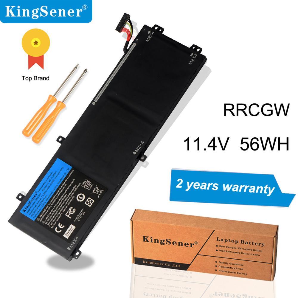 KingSener RRCGW nouvelle batterie d'ordinateur portable pour Dell XPS 15 9550 précision 5510 série M7R96 62MJV 11.4 V 56WH gratuit 2 ans de garantie
