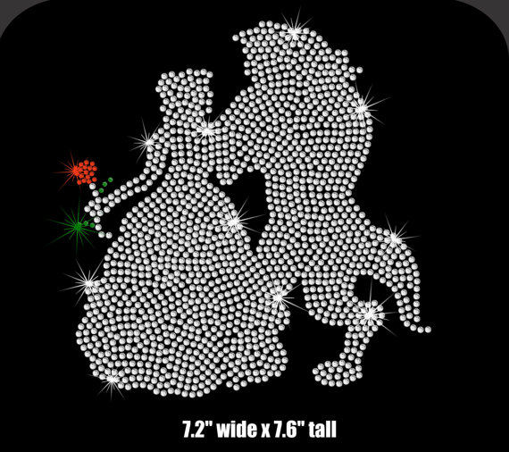 3987c89eb7 US $8.0 |2pc/lot hot fix rhinestone transfer motifs iron on crystal  transfers design hot fix iron on applique patches for shirt -in Rhinestones  from ...