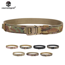 Emersongear men Tactical Belt Hard 1.5 Inch Shooter Military Airsoft Hunting Nylon Emerson EM9250 multicam black camouflage(China)