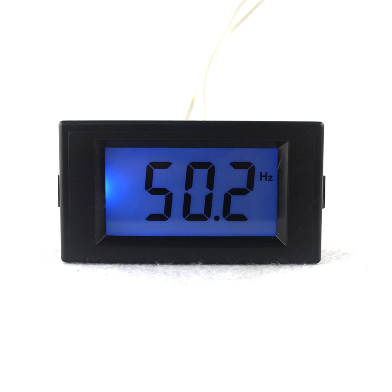 New LCD Digital LCD Frequency Counter Meter Herz Tester Cymometer 10Hz-199.9Hz Blue Backlight