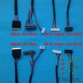 Universal LVDS Cable 40pin 30pin 20pin for LED LCD Display Panel Controller Support 14 inch-55 inch Screen 10pcs/set
