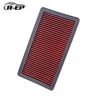 R-EP Ersatz Luftfilter Fit für Mazda 6 1.8L 2.0L 2.3L 2.5L MPV 3.0L HONGQI BESTURN B50 B70 Kalte Luft high Flow OEM RF4F13Z40
