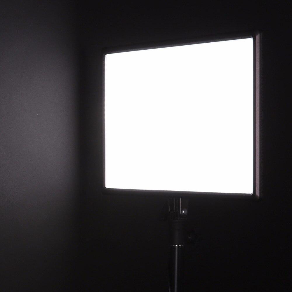 Luxpad43 DSLR Camera LED Light Pode Ser Escurecido Painel de Iluminação Fotográfica CRI95 Bi Color 3200 K 5600 K Luz de Vídeo com Adaptador de Energia AC - 5