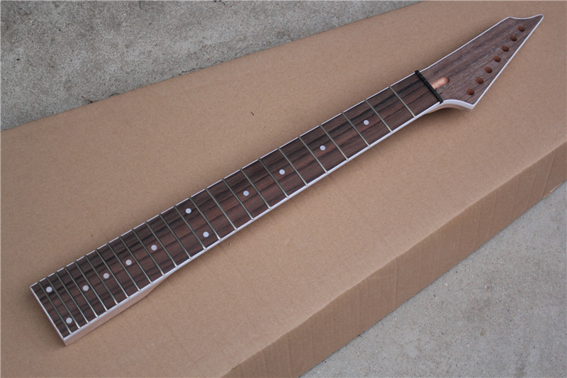 factory wholesale 24 frets rosewood fretboard 7 string electric guitar neck offer customized in. Black Bedroom Furniture Sets. Home Design Ideas