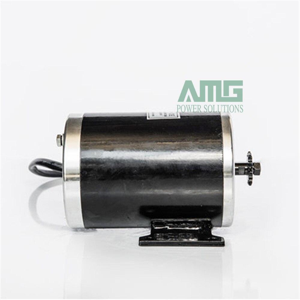 MY1020 500W DC 24V 36V 48V 2500rpm high font b speed b font brush motor for
