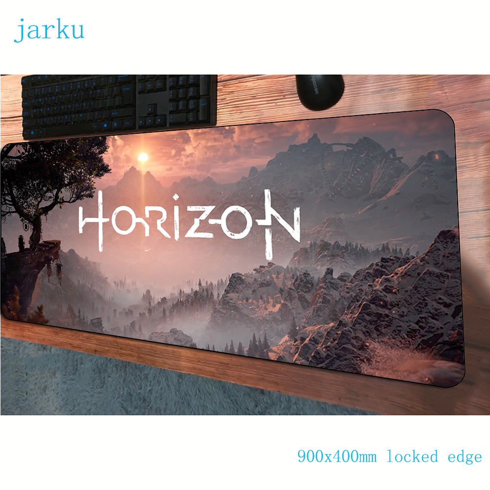 horizon zero dawn <font><b>padmouse</b></font> <font><b>900x400x3mm</b></font> gaming mousepad game HD print mouse pad gamer computer desk cheapest mat notbook mousemat image