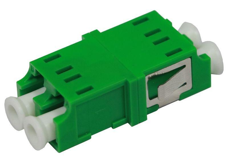 200 Pieces LC APC SM Single Mode Fiber Optical Adapter Duplex free shipping200 Pieces LC APC SM Single Mode Fiber Optical Adapter Duplex free shipping