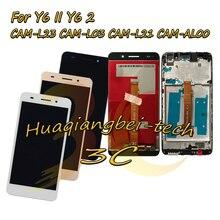 5.5 עבור Huawei Y6II Y6 השני CAM L23 CAM L03 CAM L21 CAM AL00 מלא LCD תצוגה + מסך מגע Digitizer עצרת + מסגרת כיסוי