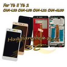 5.5 Đối Với Huawei Y6II Y6 II CAM L23 CAM L03 CAM L21 CAM AL00 Đầy Đủ LCD Hiển Thị + Màn Hình Cảm Ứng Digitizer Lắp Ráp + khung Bìa