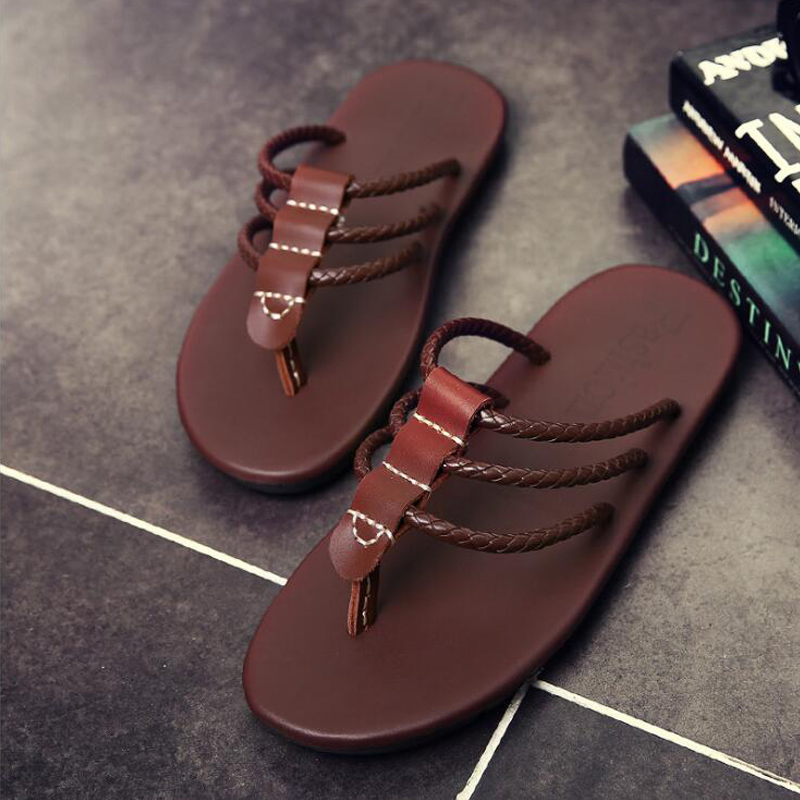 c5e2899d5 2019 New Arrival Summer Slippers Men Flip Flop High Quality Beach Sandals  Non Slide Male Slippers Zapatos Hombre Casual Shoes-in Flip Flops from  Shoes on ...