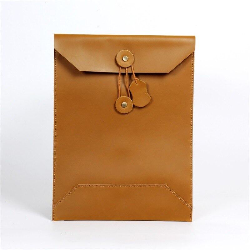Joyir men s business bag handbag men leather computer bag portfolio men envelope bag male laptop
