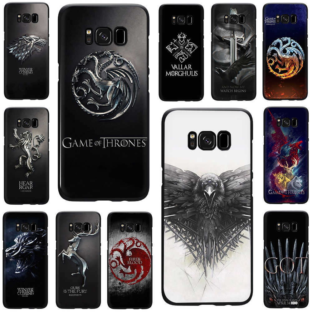 The game of the thrones Silicone phone case for Galaxy S6 S7 Edge S8 S9 S10 Plus S10e Note 8 9 J6 A6 Plus A8 A9 2018
