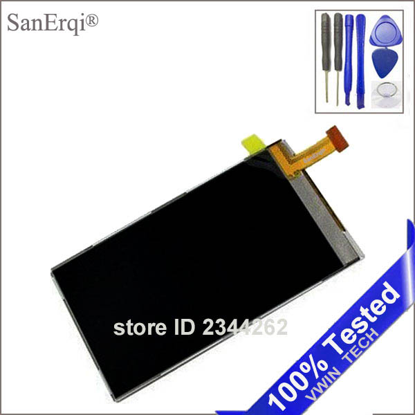 SanErqi LCD For Nokia 5800 5230 5800XM C6 5233 X6 N97mini C5-03 Phone LCD screen digitizer display + Free Tools
