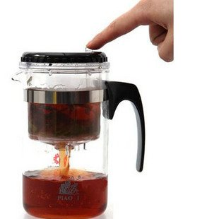 500ml Glass teapot, with filter/strainer,Glass cup,easy to use,BP01, Free Shipping