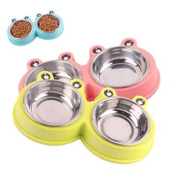 Stainless Steel Water Food Feeder Bowl 1
