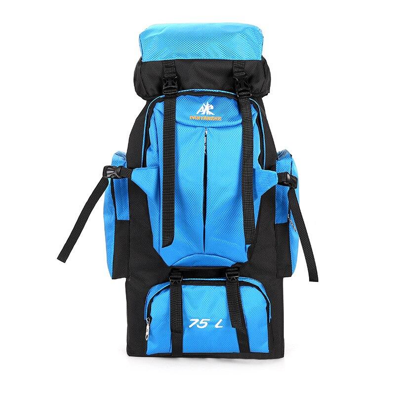 Sac à dos décontracté sacs de voyage Camping randonnée taille sacs à dos tactique imperméable Molle sacs à dos toile d'alpinisme 75L