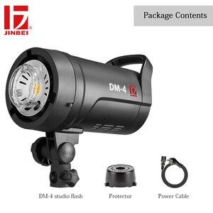 Image 5 - JINBEI DM 4 400Ws Flash de estudio portátil Luz de fotografía compacta GN66 cabeza de iluminación incorporado inalámbrico Bowens montaje