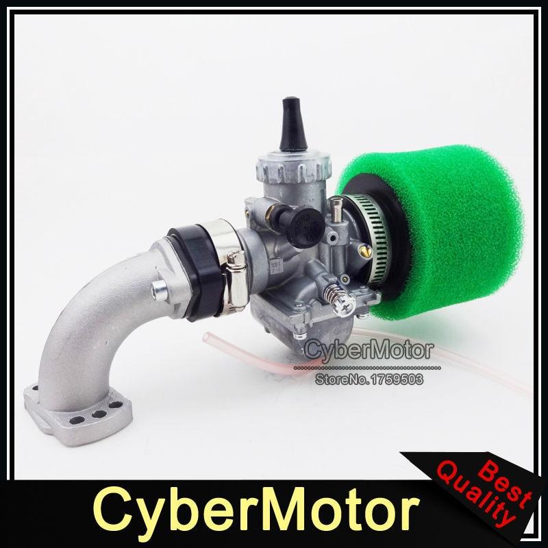 цена на 28mm Carb Mikuni VM24 Carburetor 42mm Air Filfter Intake Pipe For PitsterPro SSR YCF 140 150 160cc Engine Chinese Pit Dirt Bike