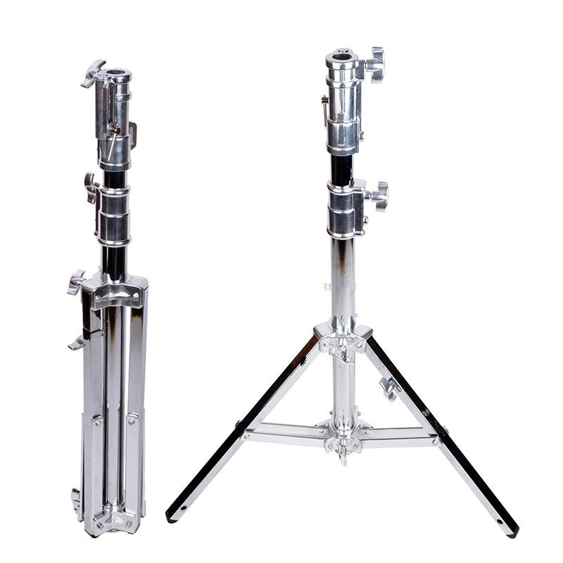 Faible-pied stand B301 heavy-duty lampe porte-film-visuel trépied tête lowboy acier inoxydable cadre CD50